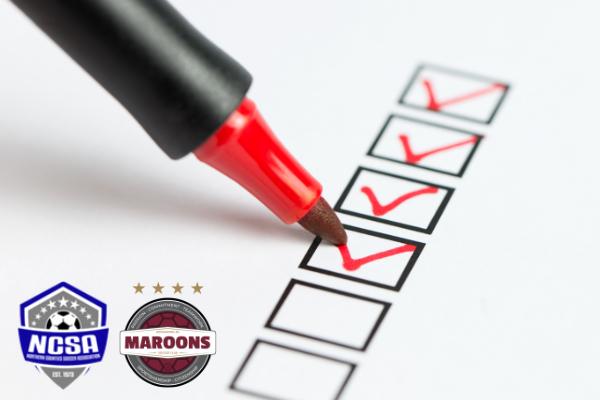 NCSA Checklist